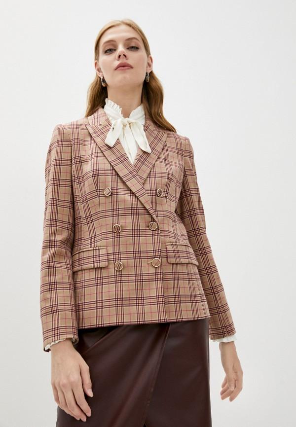 женский пиджак pennyblack, бежевый