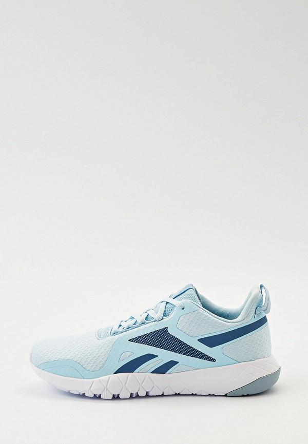 женские низкие кроссовки reebok, голубые
