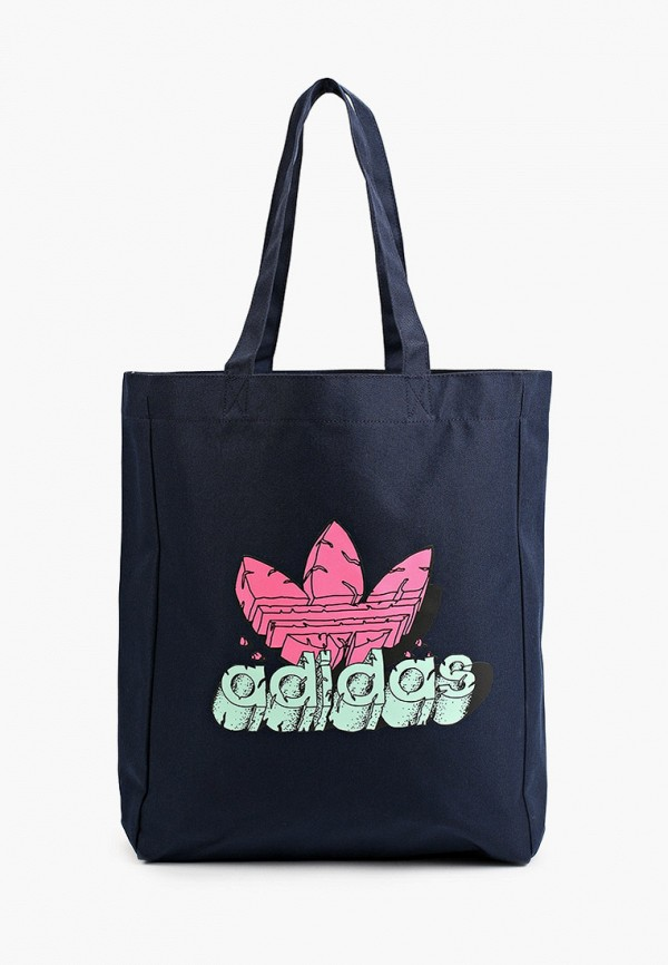женская сумка-шоперы adidas, синяя