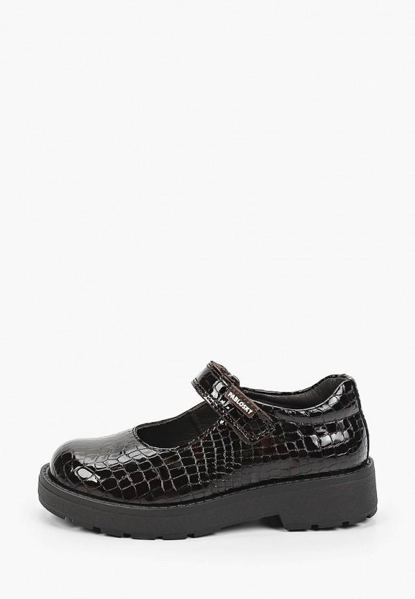 туфли pablosky для девочки, черные