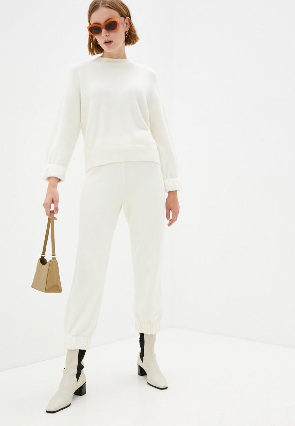 женский вязаные костюм silvian heach, белый