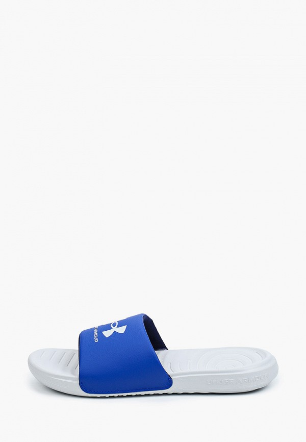 мужские сандалии under armour, синие