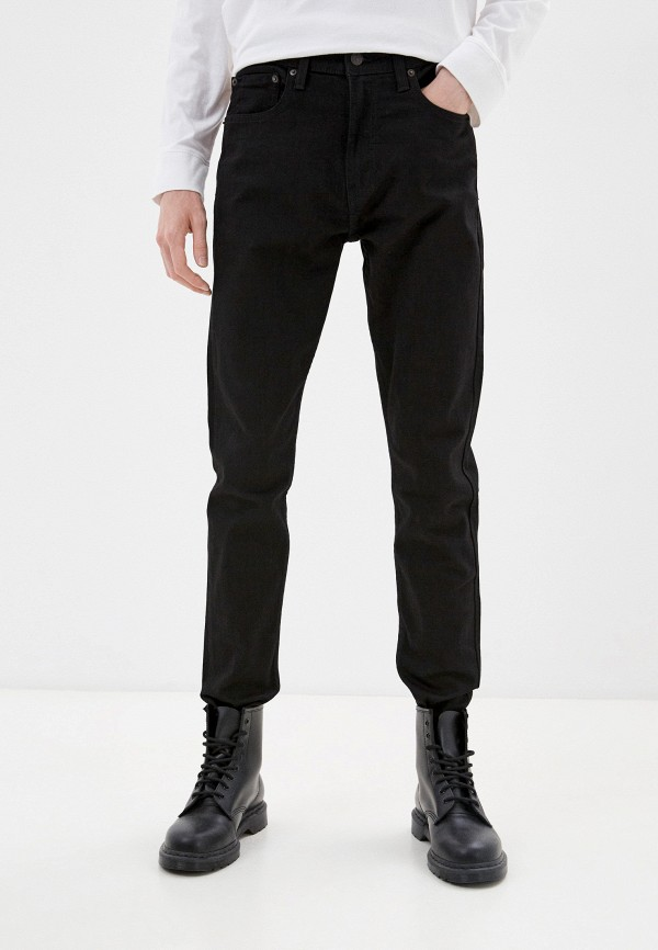 мужские зауженные джинсы levi's®, черные