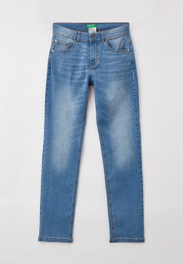 джинсы united colors of benetton для мальчика, голубые