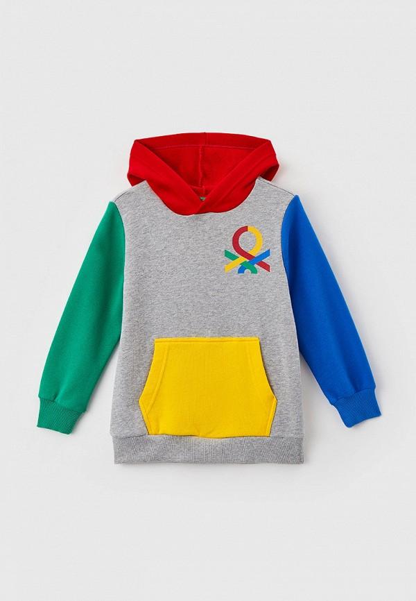 худи united colors of benetton для мальчика, разноцветные