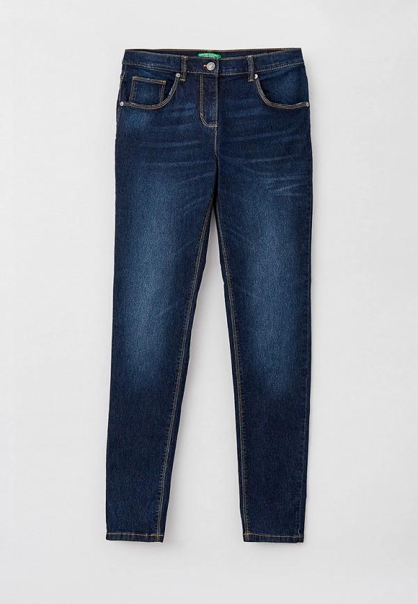 джинсы united colors of benetton для девочки, синие
