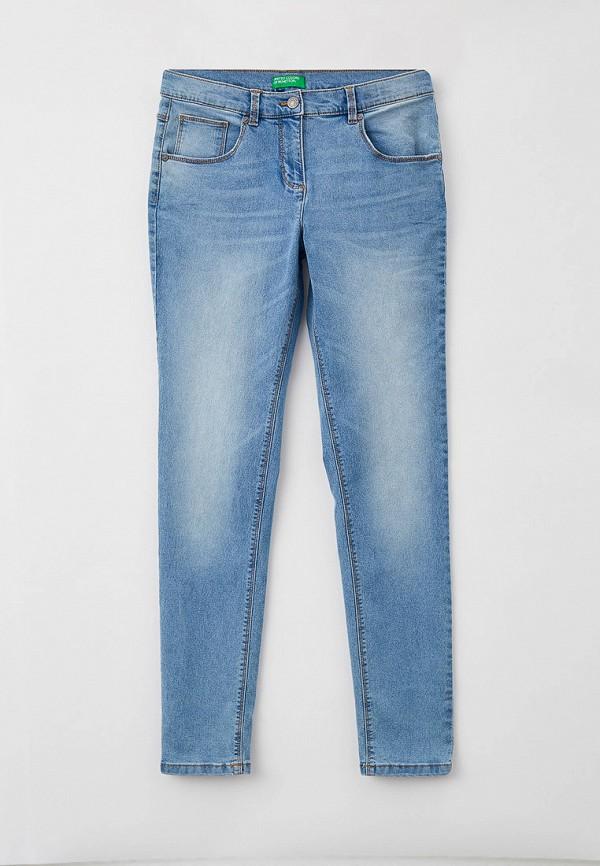 джинсы united colors of benetton для девочки, голубые