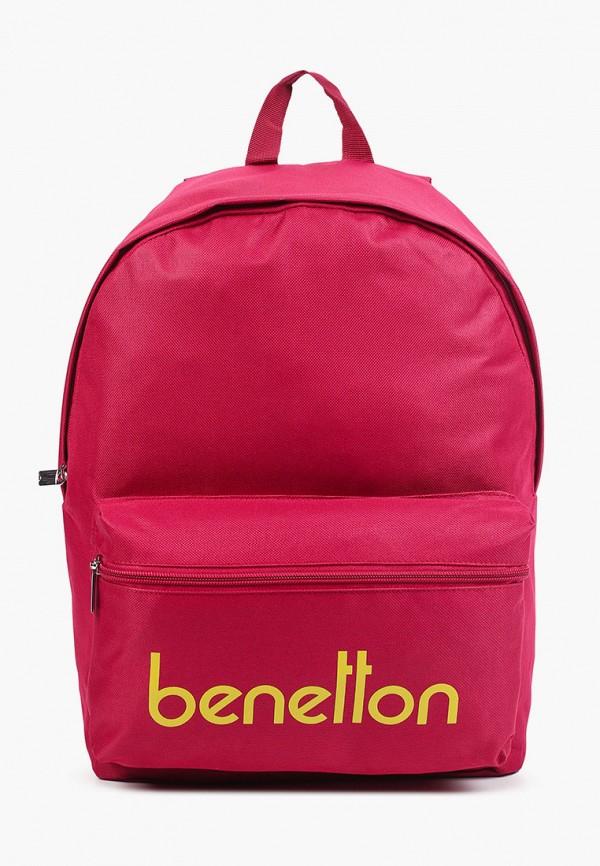 рюкзак united colors of benetton для девочки, розовый