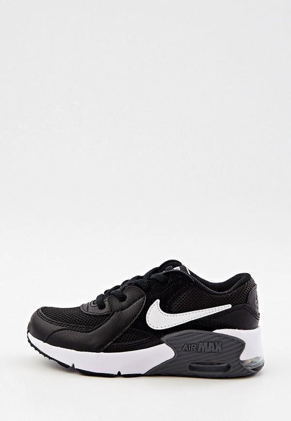кроссовки nike малыши, черные