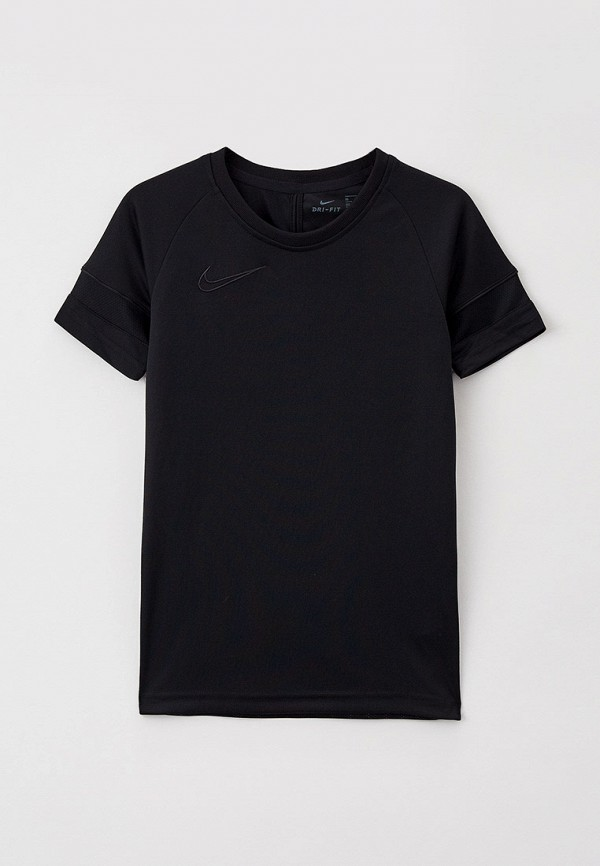 футболка с коротким рукавом nike малыши, черная
