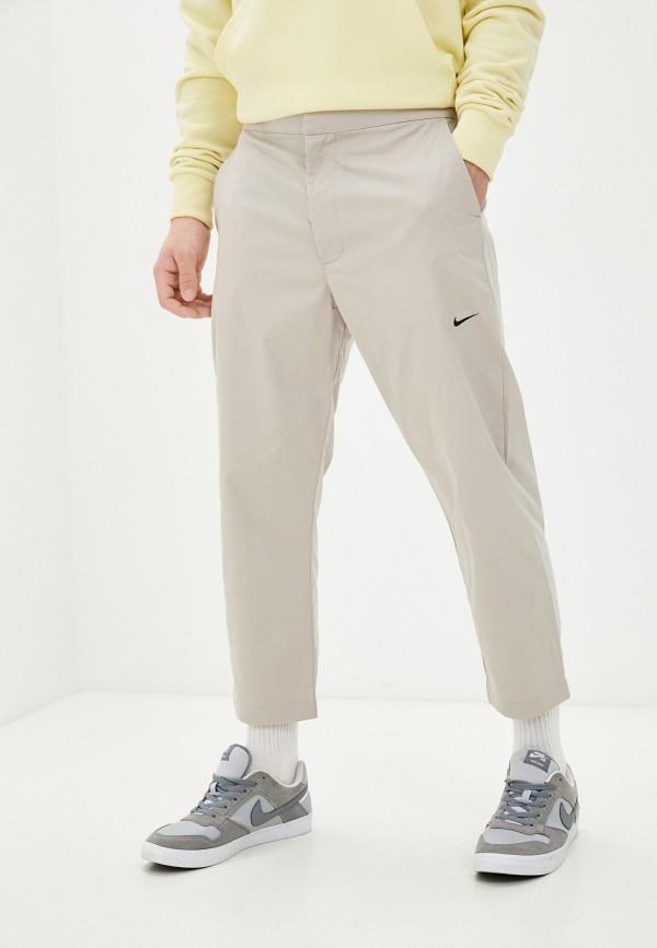 мужские повседневные брюки nike, бежевые