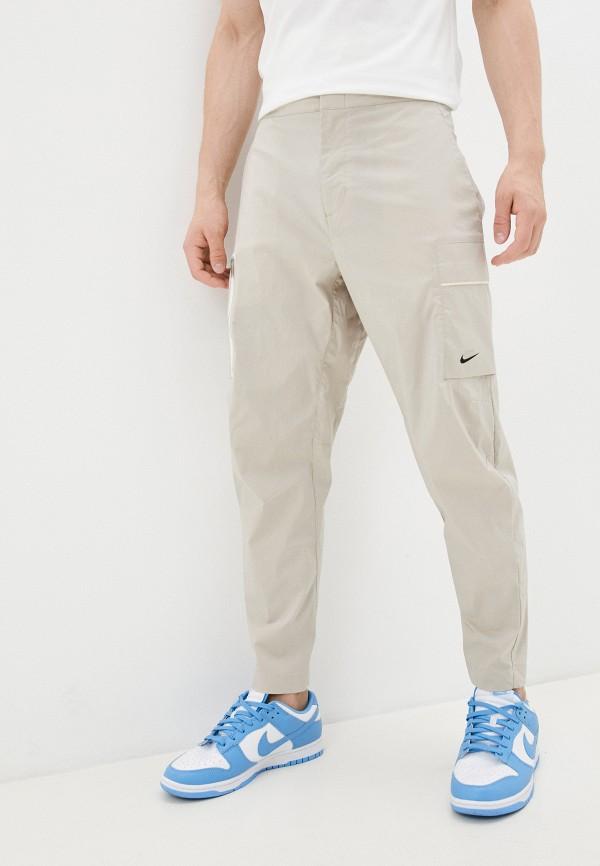 мужские брюки карго nike, бежевые