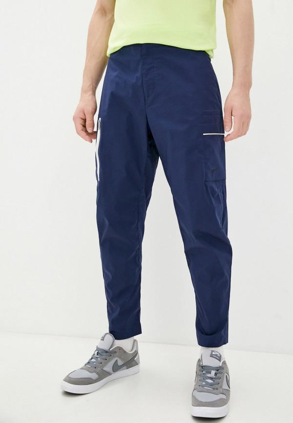 мужские брюки карго nike, синие