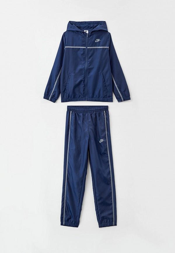 спортивный костюм nike малыши, синий