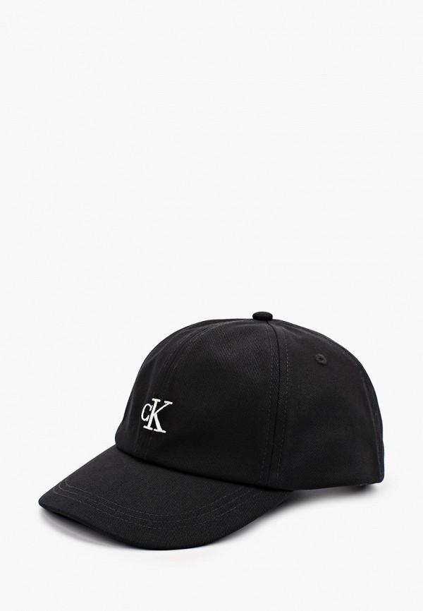 бейсболка calvin klein для мальчика, черная