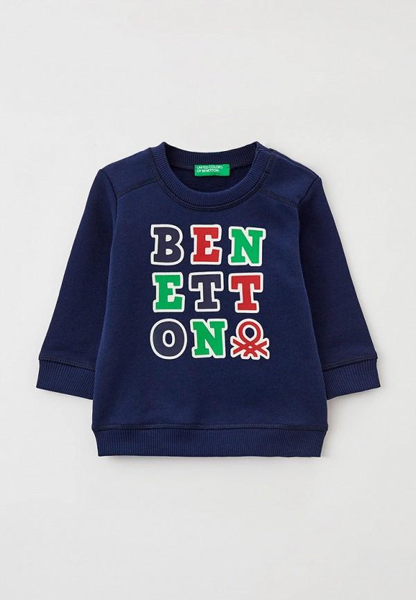 свитшот united colors of benetton для мальчика, синий