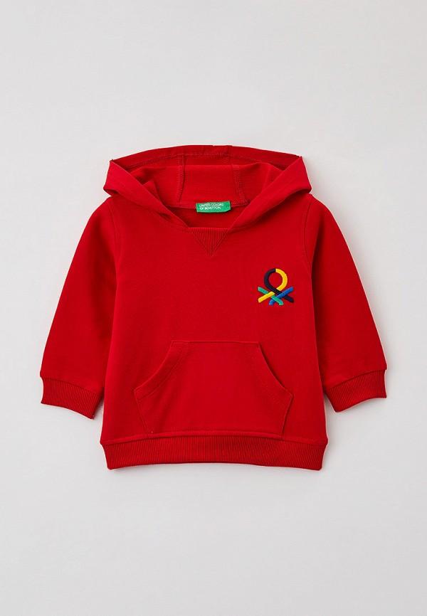 худи united colors of benetton для мальчика, красные