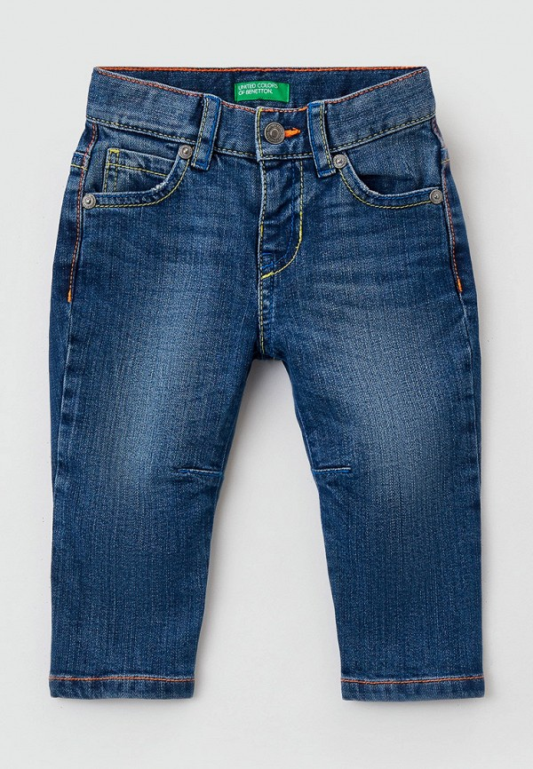 джинсы united colors of benetton для мальчика, синие