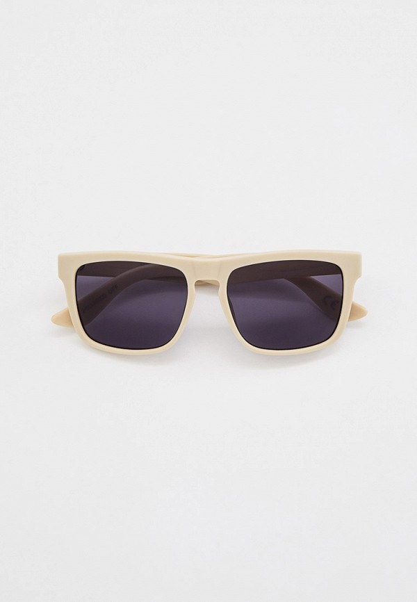 мужские квадратные солнцезащитные очки vans, бежевые