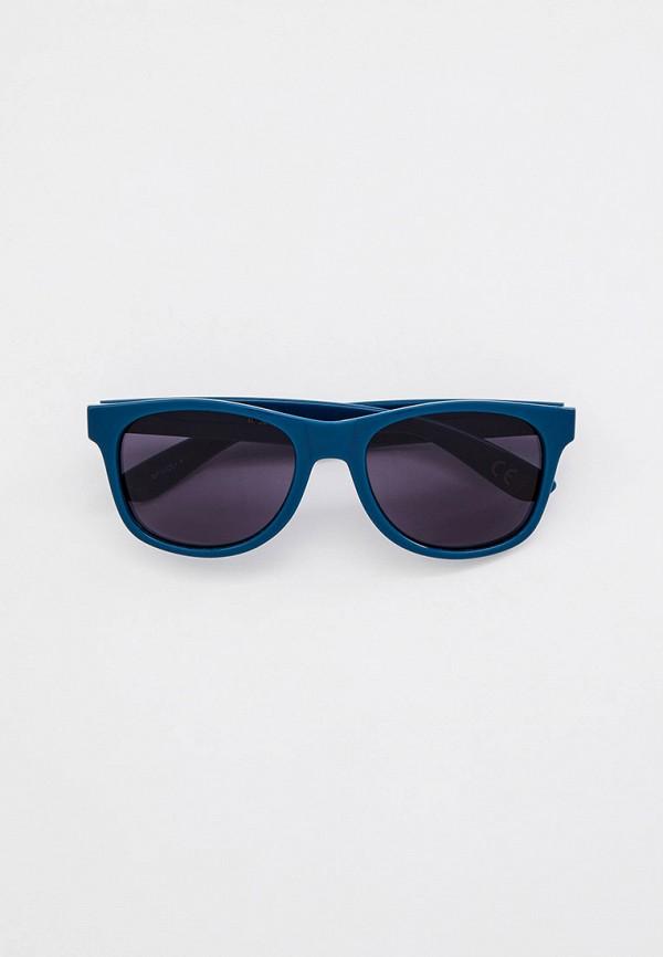 мужские квадратные солнцезащитные очки vans, синие