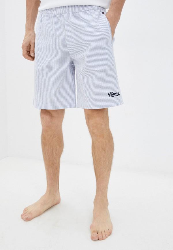 мужские шорты tommy hilfiger, голубые