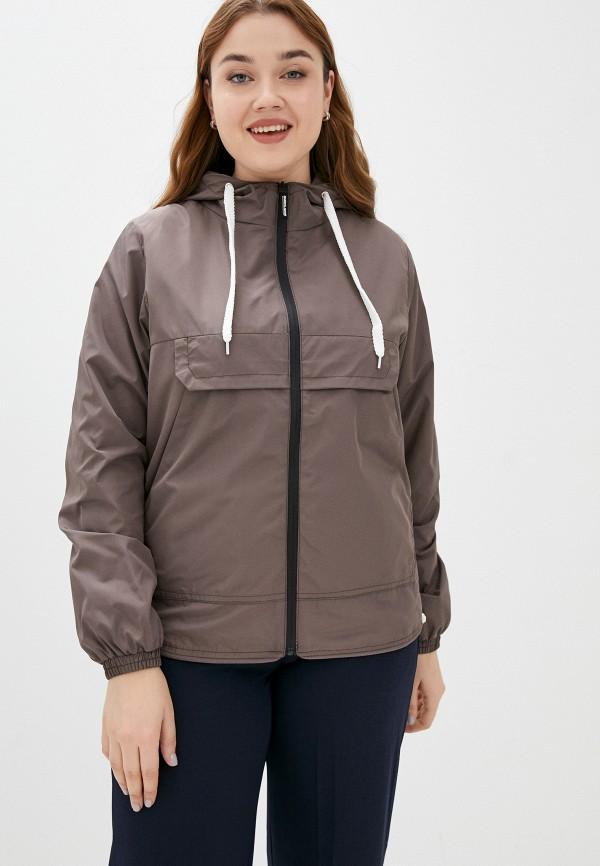 женская легкие куртка fragarika, коричневая