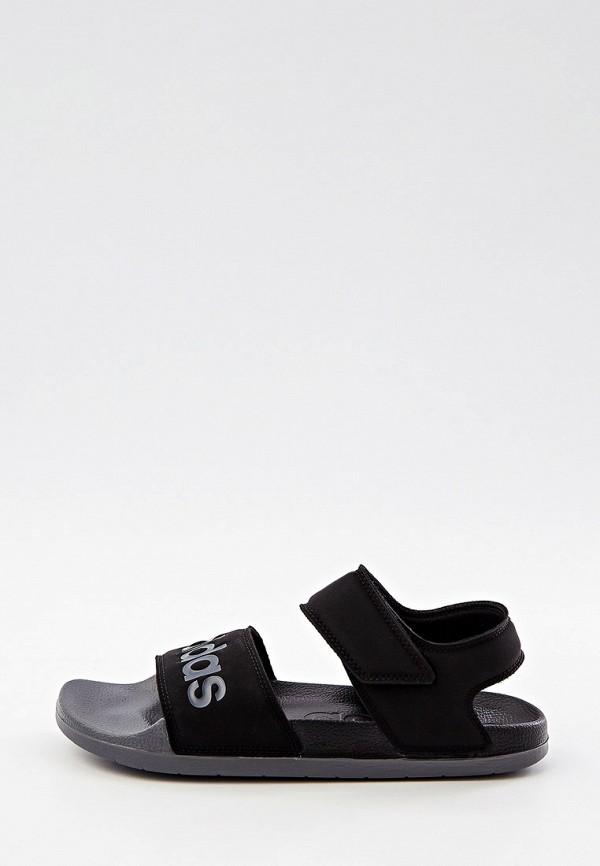 мужские сандалии adidas, черные