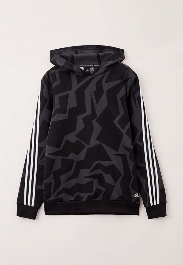 Худи adidas черного цвета