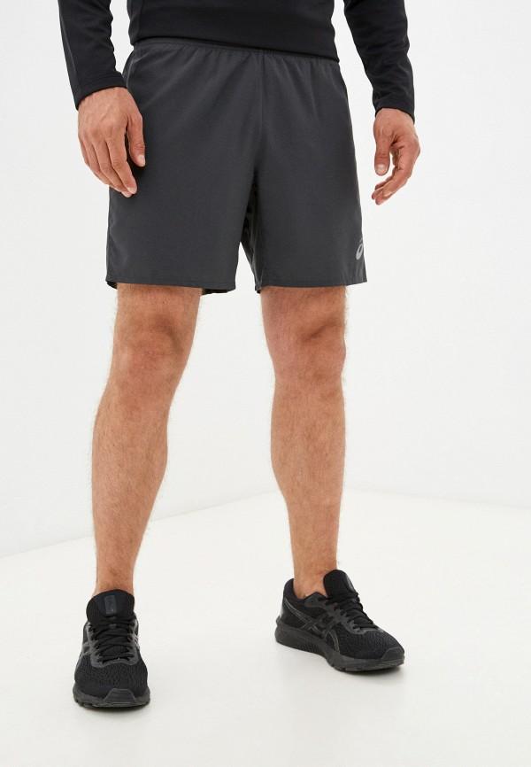 мужские спортивные шорты asics, серые