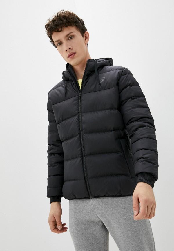 мужская спортивные куртка asics, черная