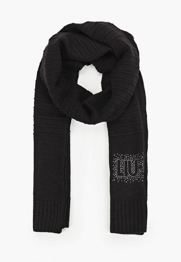 женский шарф liu jo, черный