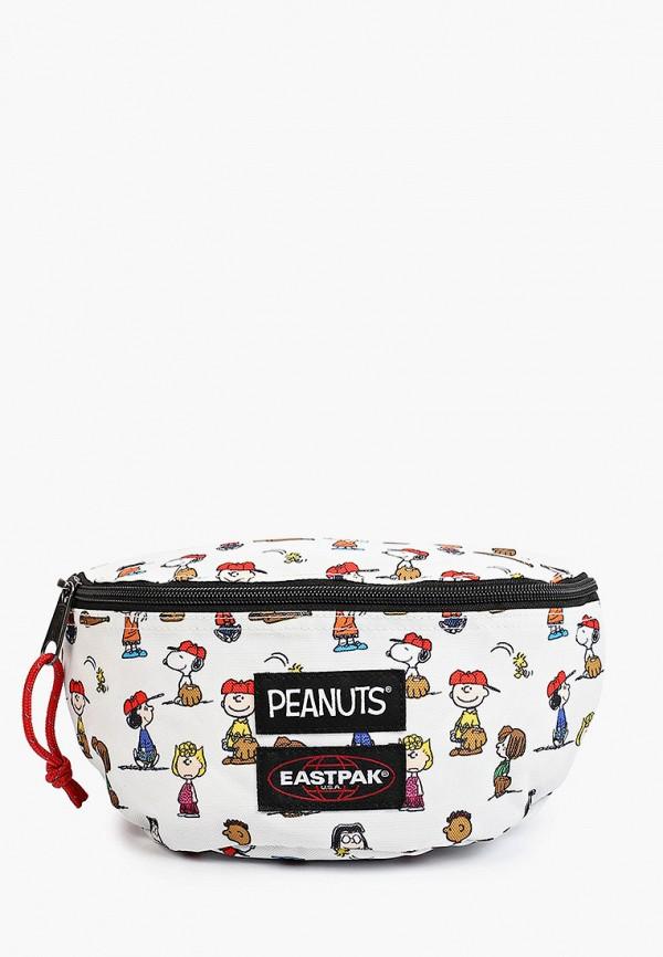 женская поясные сумка eastpak, белая