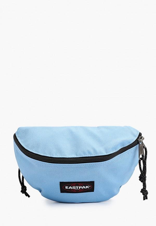 женская поясные сумка eastpak, голубая