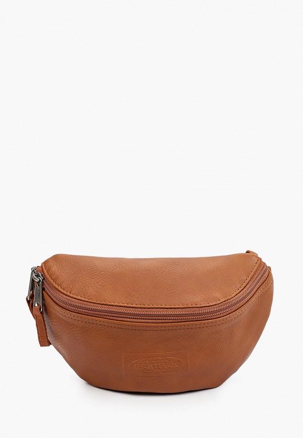 женская поясные сумка eastpak, коричневая