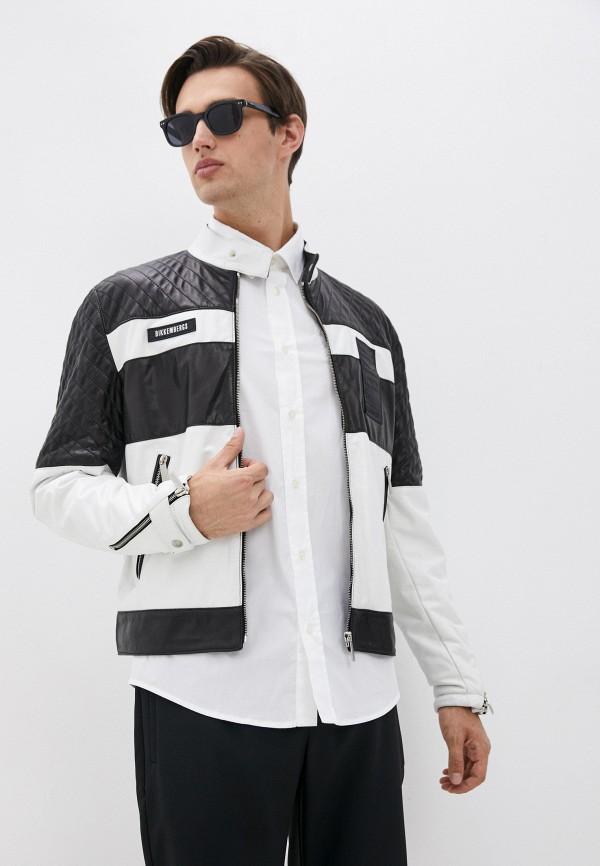 мужская куртка bikkembergs, разноцветная