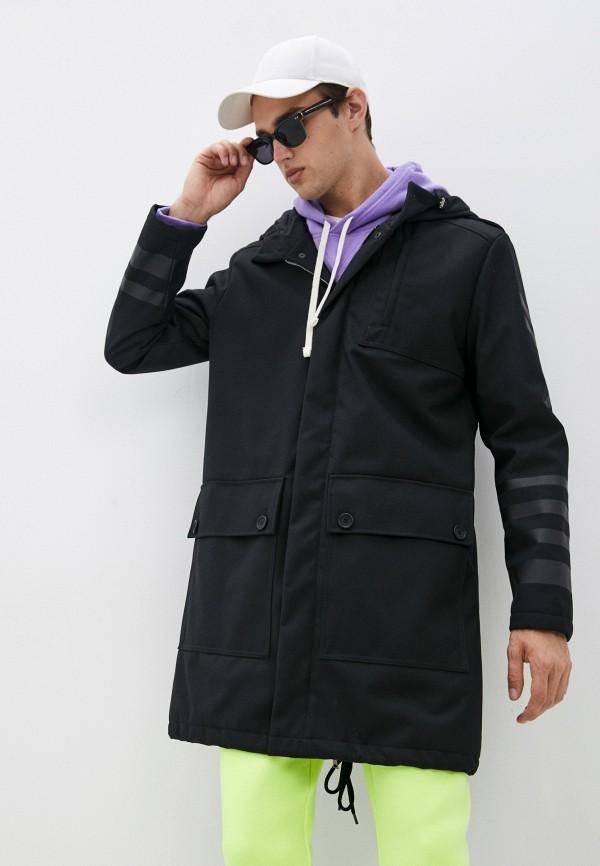 мужская куртка bikkembergs, черная