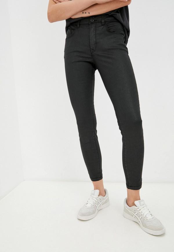 женские зауженные брюки salsa, черные