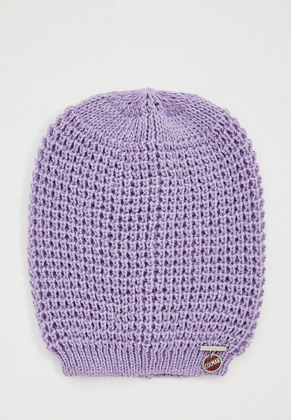 женская шапка colmar, фиолетовая