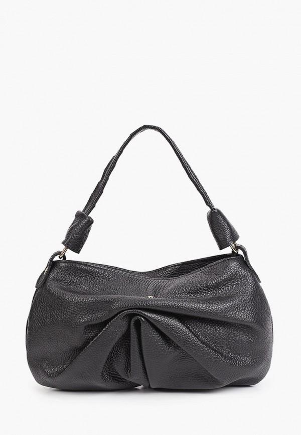 женская сумка с ручками giulia monti, черная