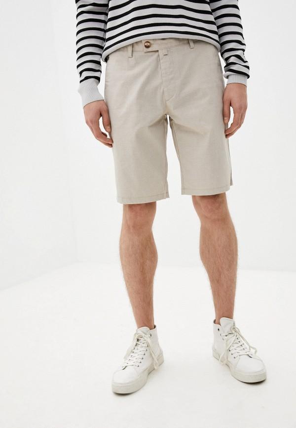мужские повседневные шорты galvanni, бежевые
