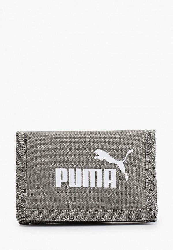 женский кошелёк puma, серый