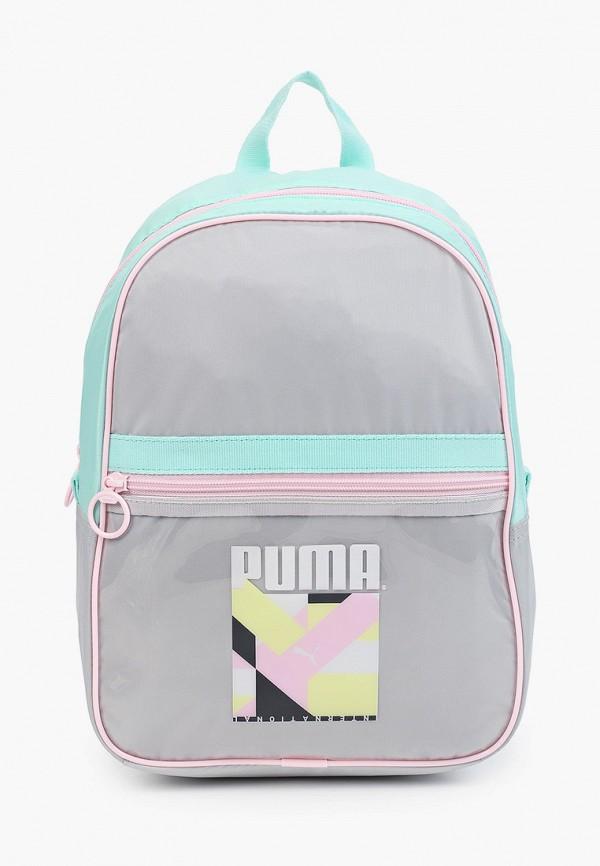 женский рюкзак puma, серый
