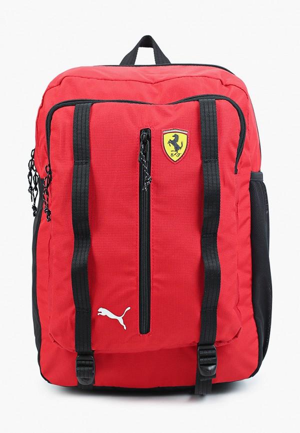 женский рюкзак puma, красный