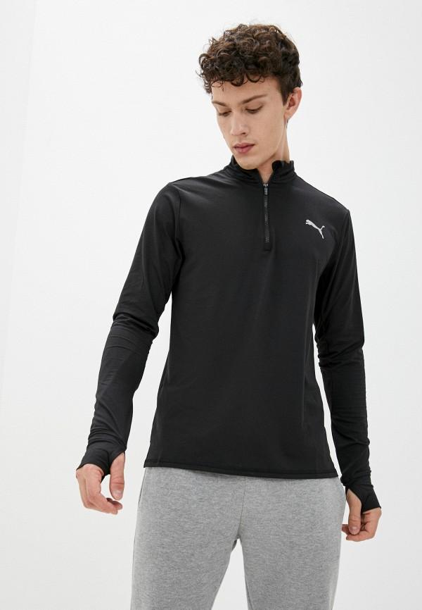 Лонгслив спортивный PUMA черного цвета