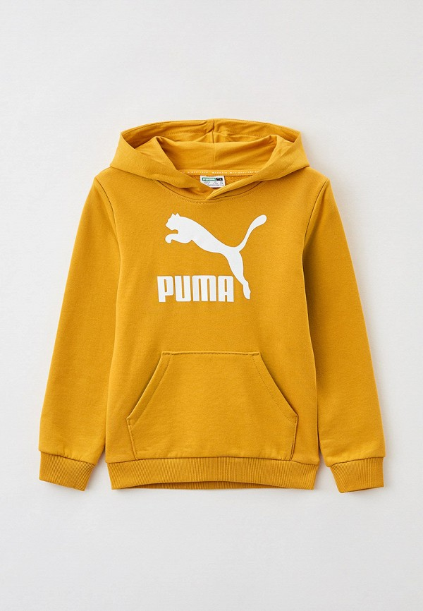худи puma для мальчика, оранжевые
