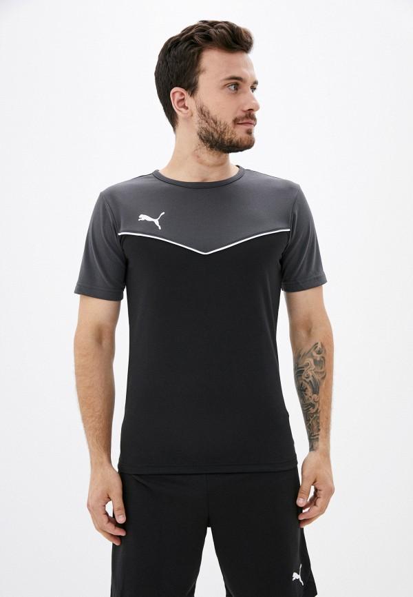 Футболка спортивная PUMA серого цвета