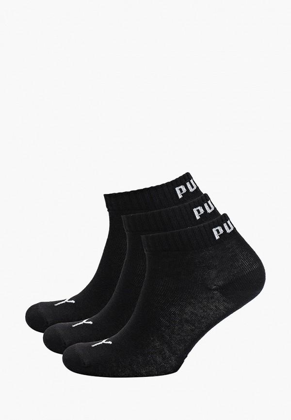 Носки 3 пары PUMA черного цвета