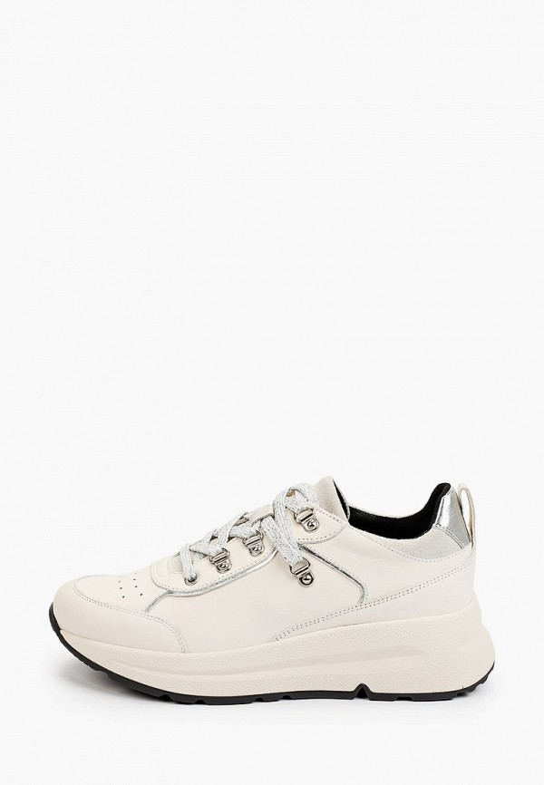 женские кроссовки geox, бежевые