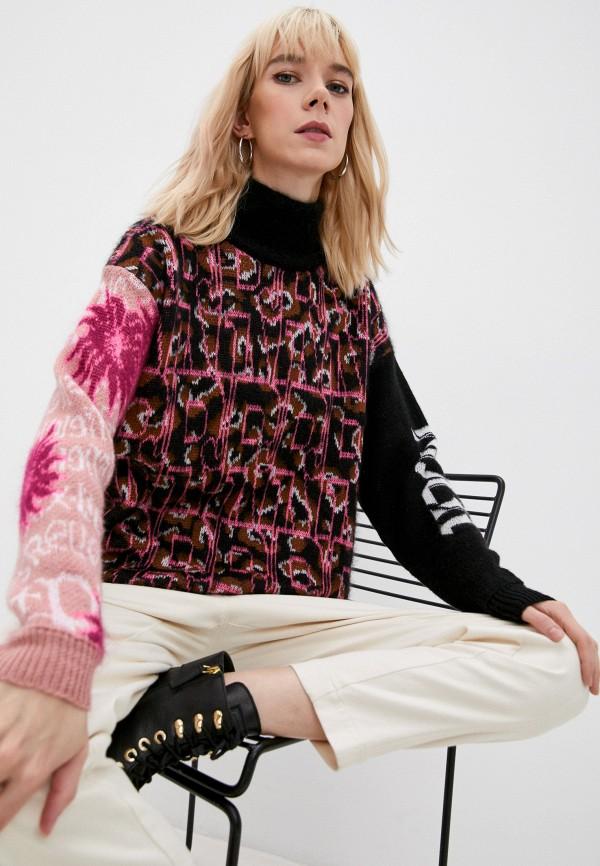женский свитер john richmond, разноцветный