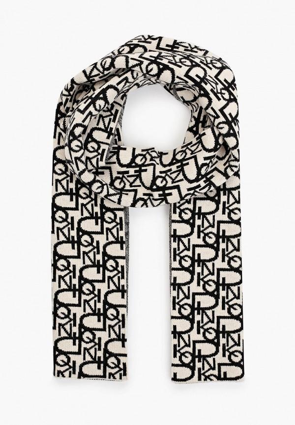 женский шарф pinko, серый